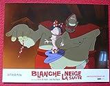 3 photos du film Blanche Neige La suite (2005) - Série publicitaire complète de 3 photos couleurs d'exploitation de salle de cinéma (21 cm x 28 cm) de Blanche Neige La suite (2005) - film réalisé par Picha avec Marie Vincent, Cécile de France