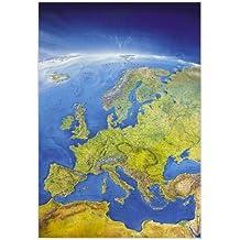 Das Große Europa Panorama (Format 108 x 150 cm), plano in Hülse (MAIRDUMONT Panoramen)
