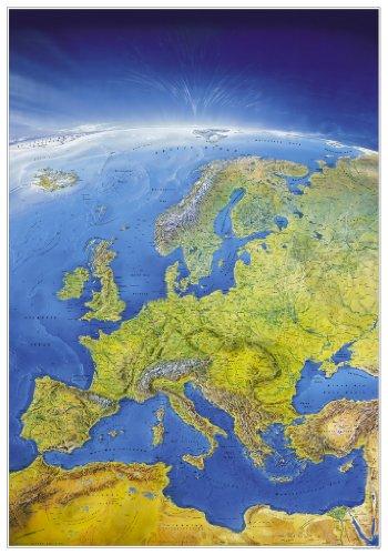 Russland-karte (Das Große Europa Panorama (Format 108 x 150 cm), plano in Hülse (MAIRDUMONT Panoramen))