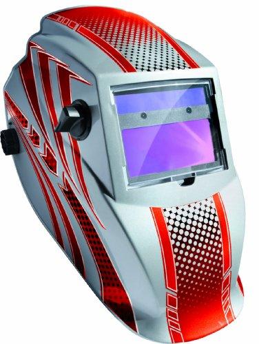 GYS Schweißhelm LCD Hermes, 1 Stück, rot, 040885 Draper Lcd