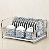Edelstahl-Küchen-Rack-Gebrauchsgut-Regal-Haus-Abtropfbrett-Entwässerungs-Zahnstangen-Speisetisch-Lagergestell ( größe : C1 )