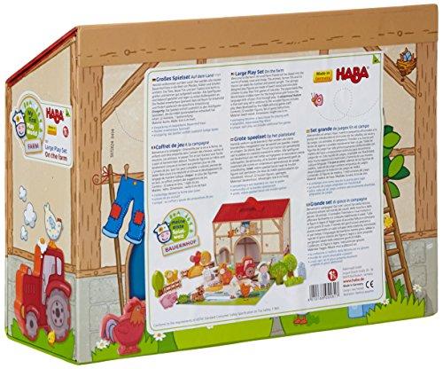 Haba-5581-Meine-erste-Spielwelt-Bauernhof-Groes-Spielset