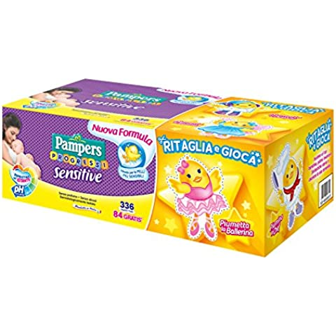 Pampers Sensitive Salviettine, 336