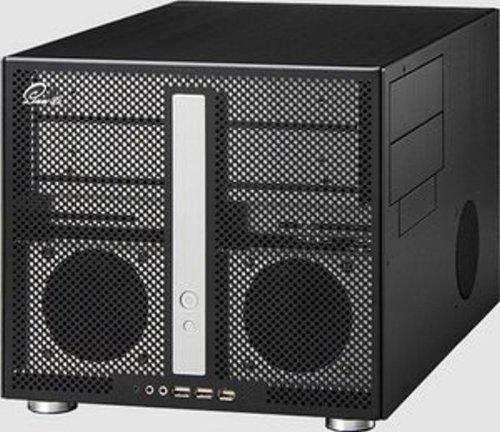 Lian-li PC-V300 - Cube Case, Case in alluminio M-ATX, senza PSU