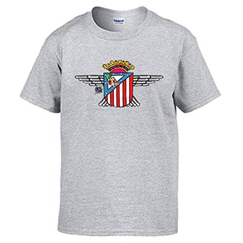 Camiseta Atlético de Madrid Atlético Aviación - Gris, M