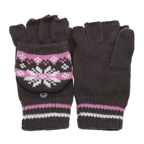 LadiesWomens-Patterned-Capped-Fingerless-Winter-Gloves