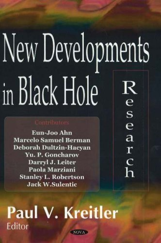 New Developments in Black Hole Research by Nova Science Pub Inc (2006-06-01)