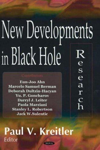 New Developments in Black Hole Research by Nova Science Pub Inc (2006-06-01)