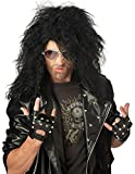California Costumes 179052 Heavy Metal Rocker Black Adult Wig (peluca)