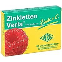Zinkletten Verla Himbeere Lutschtabletten 50 stk preisvergleich bei billige-tabletten.eu