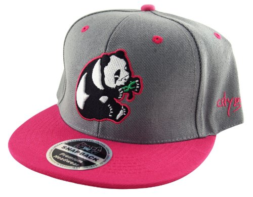 Bloods - Casquette de Baseball - Homme Gris Grey and Pink