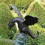 Rêve élégante Dragon de jardin en bronze Gargouille–x-celerator Itas, bronze