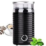 TZS First Austria - elektrische Kaffeemühle mit Schlagwerk extra leise | 160 Watt Propellermühlen für 65g Kaffeebohnen | fein bis grob | Retro schwarz Espressomühle, cafe mühle