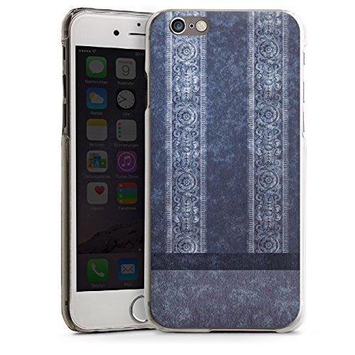 Apple iPhone 5s Housse étui coque protection Bandes Papier peint Motif CasDur transparent