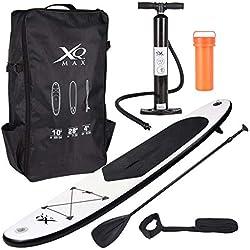 XQ Max Professional Aquamarina Planche de surf rames Sac à dos Pompe à air Package kit Ensemble