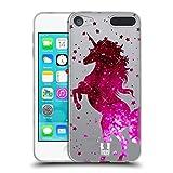 Head Case Designs Pink Einhorn Funkeln Soft Gel Hülle für Apple iPod Touch 6G 6th Gen