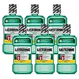 Listerine Zahn- und Zahnfleischschutz Antibakterielle Mundspülung (Schutz für Zähne und Zahnfleisch) 6er...