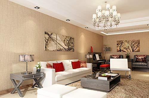 Porzellan Home Decor (Wandaufkleber 3D Europäisches Rautenmuster-Porzellan, das Gelb schnitzt 3D Non-woven Wall Art Rolls Designs for home Decor)