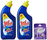 #8: Sanifresh Toilet Cleaner - 500ml+500ml (Free Odonil Air Freshener - 50g)