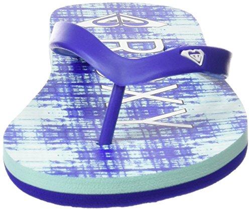 Roxy Damen Tahiti V J Sndl Sandalen Flipflops Blau (Navy/Bright Blue)