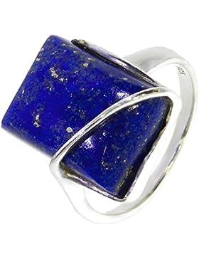 Ring mit Lapis Lazuli 38-15 - Schmuck Silbern aus Lapis Lazuli - Alle Größen und verschiedene Steine - ARTIPOL