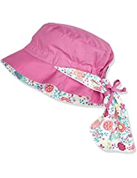 Sterntaler Baby - Mädchen Mütze Hut M. Nackenschutz