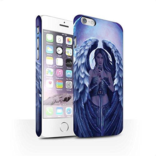 Officiel Elena Dudina Coque / Clipser Matte Etui pour Apple iPhone 6 / Pack 9pcs Design / Super Héroïne Collection Ange Gardien