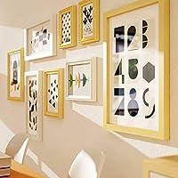 Muro fotográfico creativo / Muro creativo para portarretratos / Portaretrato de madera / Muro / Muro