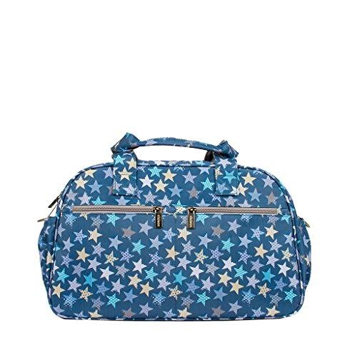 Kiwisac Trendy Casual Stars Bolso Maternal Unisex con un Diseño Original y Divertido de Estrellas/Bolsa...