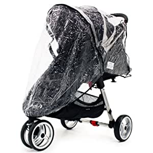 Baby Travel - Baby Jogger City Mini Micro Pluie Protection Single Zipped Protection Contre Les Intempéries