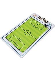 Double Face Soccer Coach Tableau tactique avec marqueur et aide à la