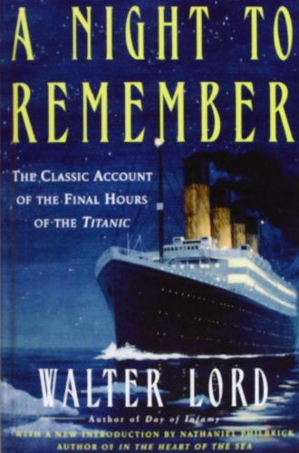 A Night to Remember by Walter Lord (2008-05-29) for sale  Delivered anywhere in UK