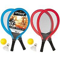 Ak Sport - 0726112 - Jeu De Raquettes - Sportx Jumbo Tennis Set