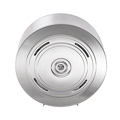Qualitäts Toilettenpapier-Spender für 4 haushaltsübliche Rollen Edelstahl rostfrei