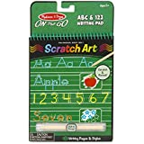 Melissa and Doug on The Go Scratch Art Writing Pad with Stylus, Multi Color