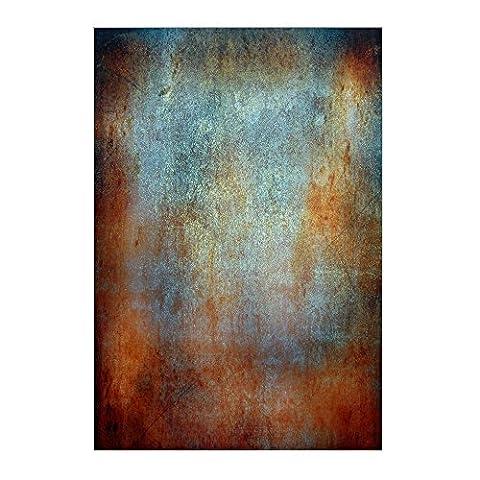 Mu 1,5x 2,1m Peinture à l'huile des effets de couleur fond Style shabby Photographie Fond Xt-5114