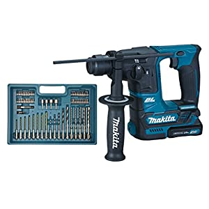Makita HR166DSAE1 rotary hammers 680 RPM – Martillo perforador (1,6 cm, 680 RPM, 1,1 J, 4800 ppm, 1 cm, 1,3 cm)