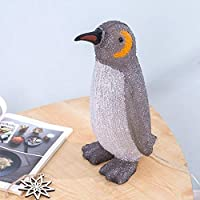 COlife Table Lamp, 3D Visual LED Lights Penguin Acrylic Bedside Night Light Bedroom