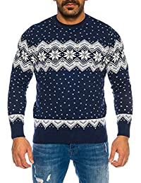 Raff Taff Herren Strickpullover Sweater Hoodie Wollpullover   M - 5XL    Norweger Island Pullover Weihnachten Winter 589dfa8853