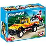 Playmobil Vacaciones - Pick-up con quad (4228)