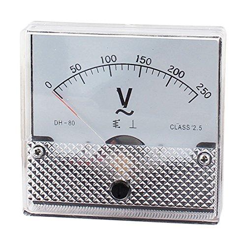 AC 0-250V arabischen Ziffern Dial-Panel Analog Voltmeter Voltmeter DH-80 -