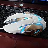 V1 Mechanische Metall Verdrahtete Maus Mechanische Gaming-Maus LED-Licht Gaming-Maus