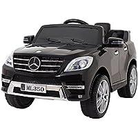 Coche eléctrico niños 12v con mando -Mercedes ML ...