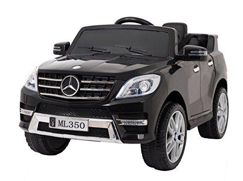 MERCEDES ML350 LICENCEED 12V voiture électrique enfants à la batterie - Noir