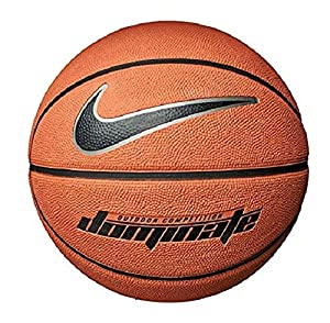 Nike Dominate Basketball 8P 7 amber/black/mtlc platinum/black