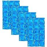 com-four® 4X Paquete de Hielo Flexible, compresor de enfriamiento Reutilizable Ideal para el Bolso más Fresco, 25 x 15 cm (04 Piezas - Almohadillas de 25 x 15 cm)
