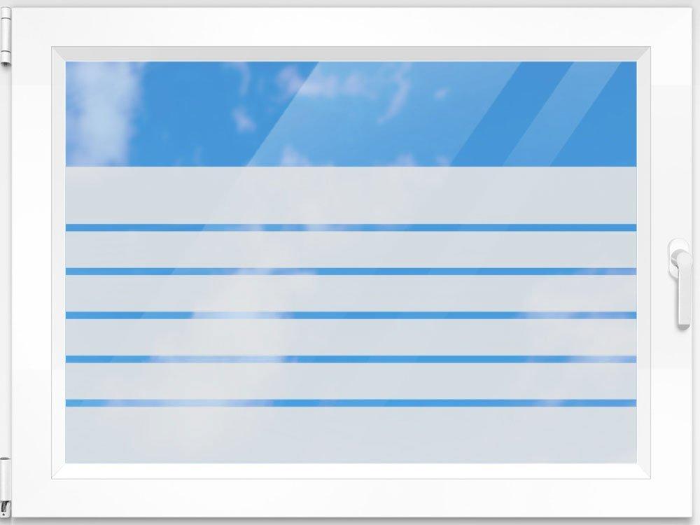 Schön Amazon.de: Sichtschutzfolie Fensterfolie Folie Für Badezimmer Streifen  übereinander (100x57cm)