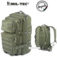 Zaino Incursore MFH Tattico Assault 50 Litri 3 Days Militare Verde Oliva - 50 Verde Oliva