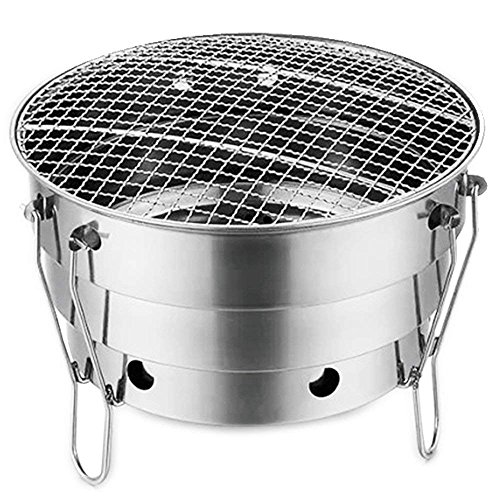 Wdj Grill Holzkohle Grill Outdoor Edelstahl Grill Herd Portable