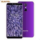 Smartphone Ohne Vertrag, Oukitel C8 3G Dual SIM Handy 5.5 Zoll (18:9 Display) Android 7 3000mAh Akku 16GB Interner Speicher 2GB RAM 13MP Kamera Handy mit Fingerabdruck